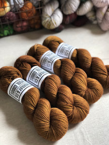 English Toffee Yak Sock
