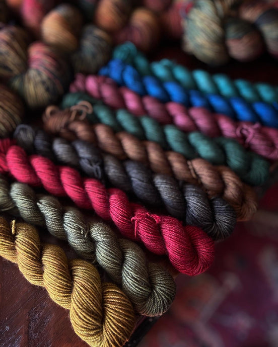 Ancient Library Mini Skein Set