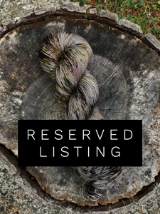 Reserved Listing for Courtney