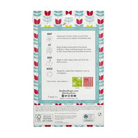 Beeswax Food Wraps - Single Pack (Tulip Pattern)