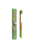 Bamboo Toothbrush - Forest Green