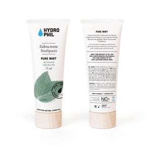 Natural Toothpaste with Fluoride - Pure Mint