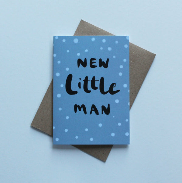 Hello Little Man Greeting Card