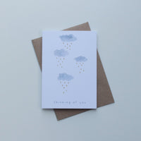 Thinking Of You Clouds Greeting Card