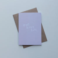 Happy Birthday Lovely Greeting Card