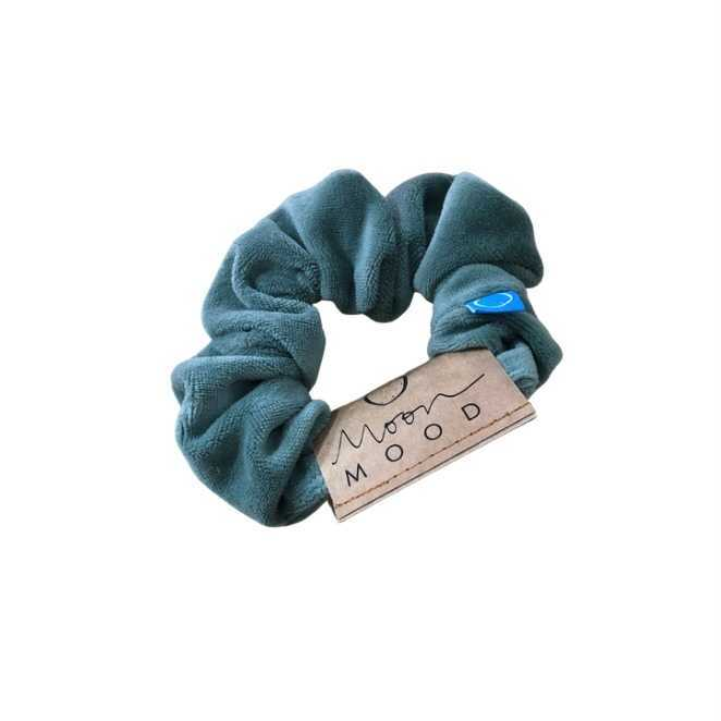 Sage Green Velvet Scrunchies