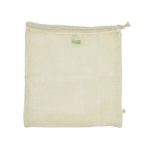 Organic Cotton Mesh Produce Bag - Large (34 x 38cm)