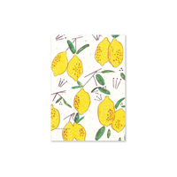 Badly Made Books Notebook A5 - Lemon