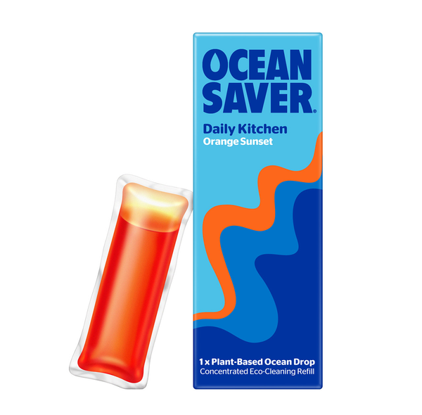 OceanSaver Cleaner Refill Pods - Daily Kitchen Cleaner Refill