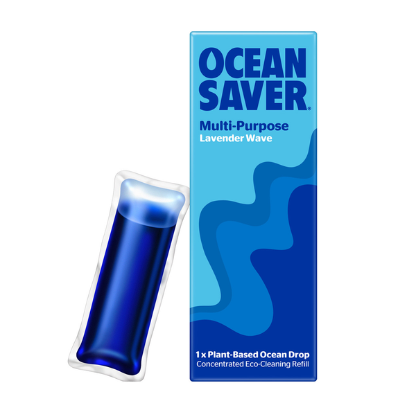 OceanSaver Cleaner Refill Pods - Multipurpose Lavender Wave Spray Refill