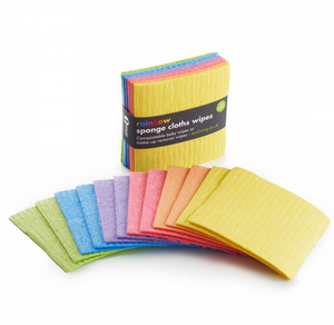 Compostable Sponge Cloths Wipes