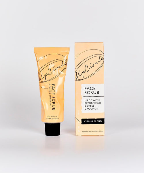 UpCircle COFFEE FACE SCRUB CITRUS BLEND 100ML (for dry, dehydrated skin)