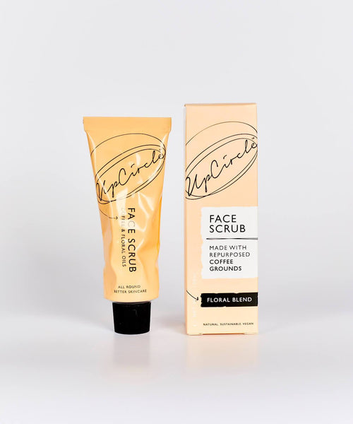 UpCircle COFFEE FACE SCRUB FLORAL BLEND 100ML (for sensitive skin)