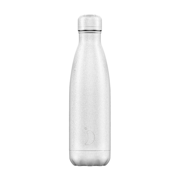 Chilly's Bottle 500ml Glitter White