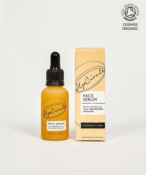 ORGANIC FACE SERUM WITH COFFEE OIL 30ML