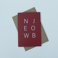 New Job Red Greeting Card
