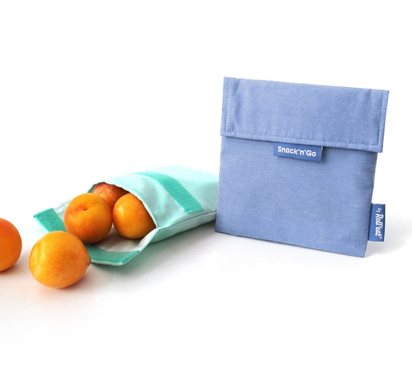 Snack'n'Go Pouch Blue print