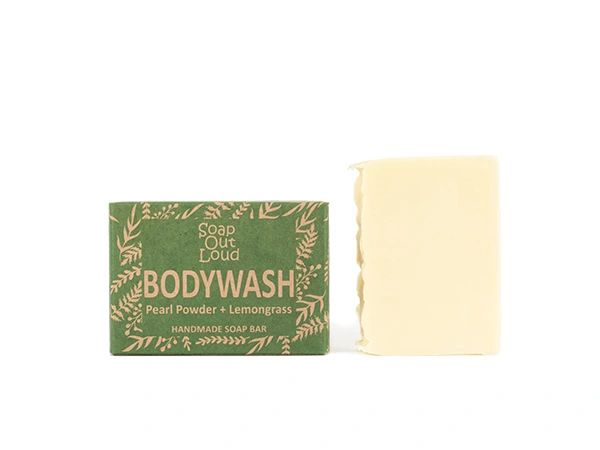 Pearl Powder + Lemongrass Bodywash Bar