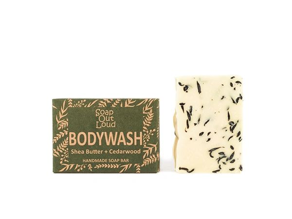 Shea Butter + Cedarwood Bodywash Bar