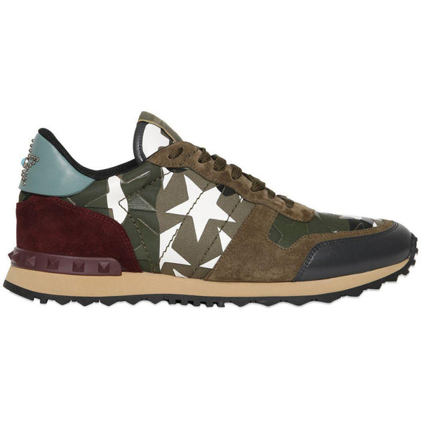 2acc3a80ba8ab Green Rockrunner Camustars Canvas Sneakers – Outlet Center