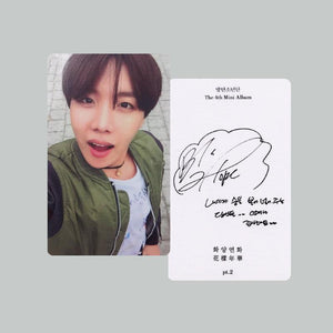 Autographed Photocard Sets - BTS ARMY MERCH