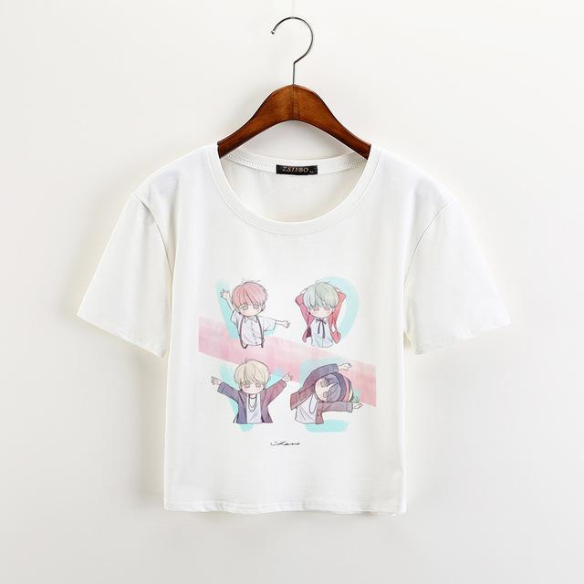 Baby BTS Crop Tee - BTS ARMY MERCH