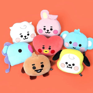 BABY FLAT FACE CUSHION - BTS ARMY MERCH