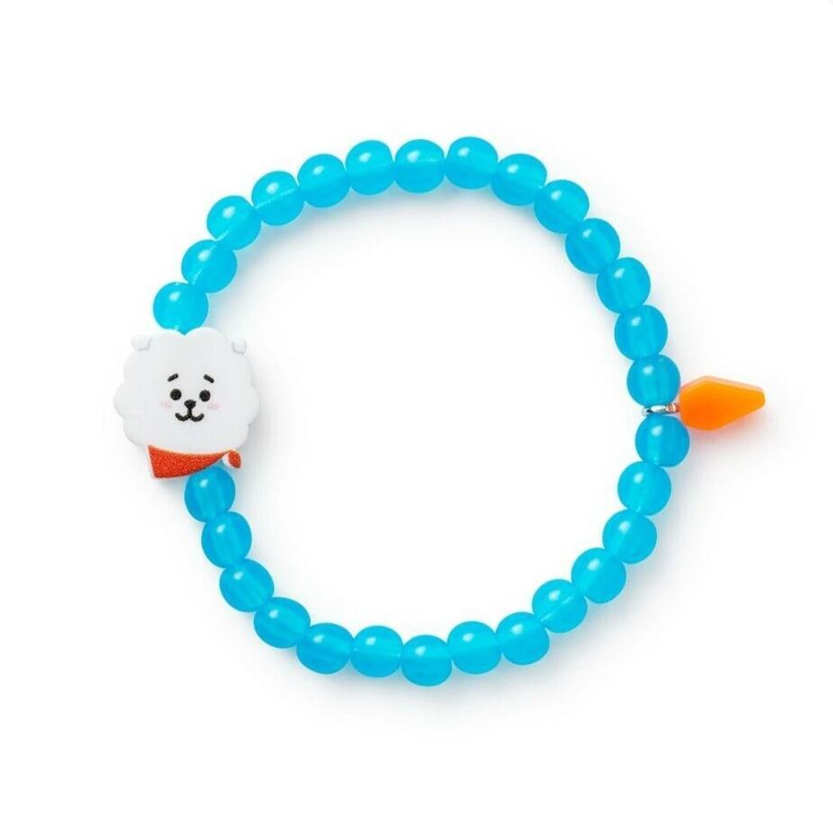 BEADED CHARM BRACELET - BTS ARMY MERCH