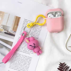 Fluffy AirPods Case - BTS accessories
