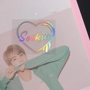 Holographic Bias Stickers - BTS accessories