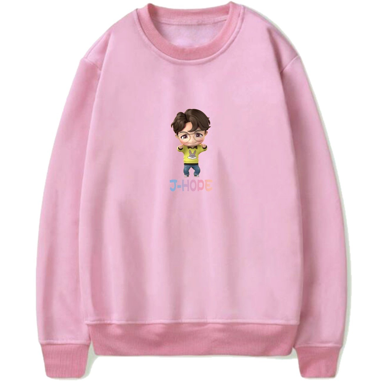 HOUSE OF BTS: CARTOON SWEATSHIRTS - BTS ARMY MERCH