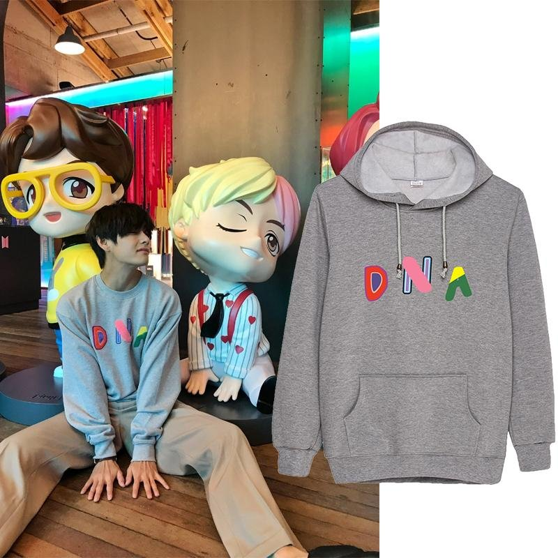 HOUSE OF BTS: DNA HOODIES - BTS ARMY MERCH