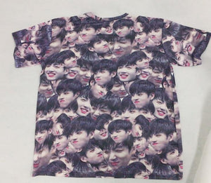 Jungkook Baby Face T-shirt - BTS ARMY MERCH