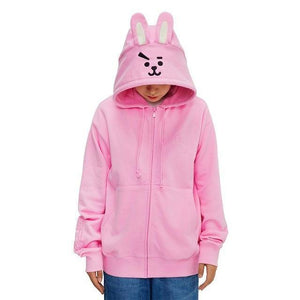 Line Friends Hoodie - BTS ARMY MERCH
