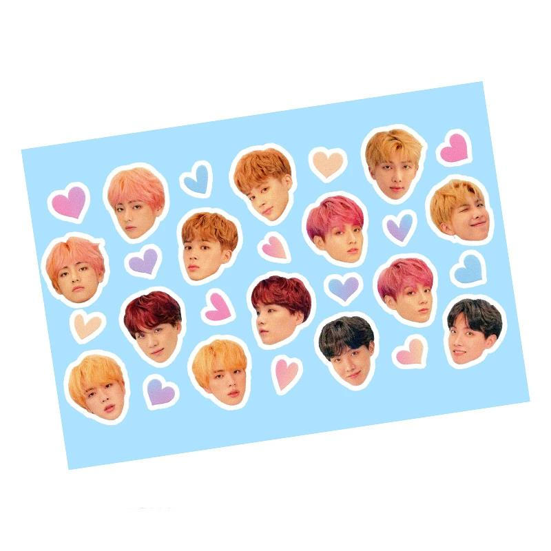 LOVE YOURSELF ALBUM STICKER - BTS ARMY MERCH