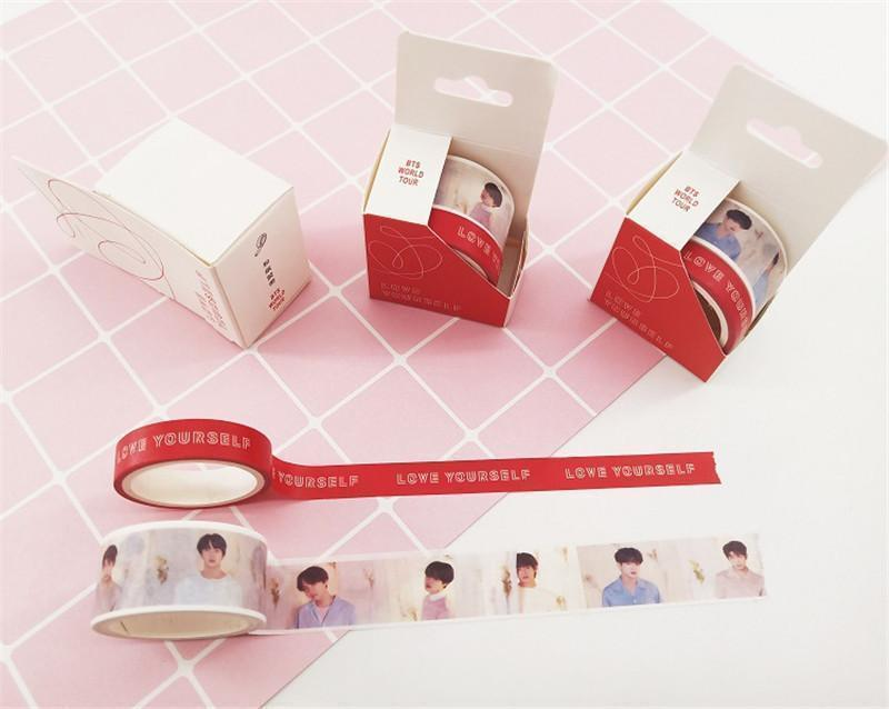 Love yourself Answer Washing Tape - BTS ARMY MERCH