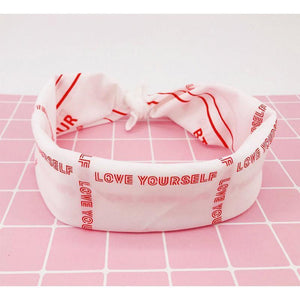 LOVE YOURSELF World Tour Scarf - BTS ARMY MERCH