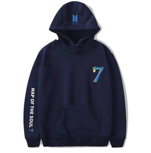 MAP OF THE SOUL: 7 ALBUM HOODIES - BTS ARMY MERCH