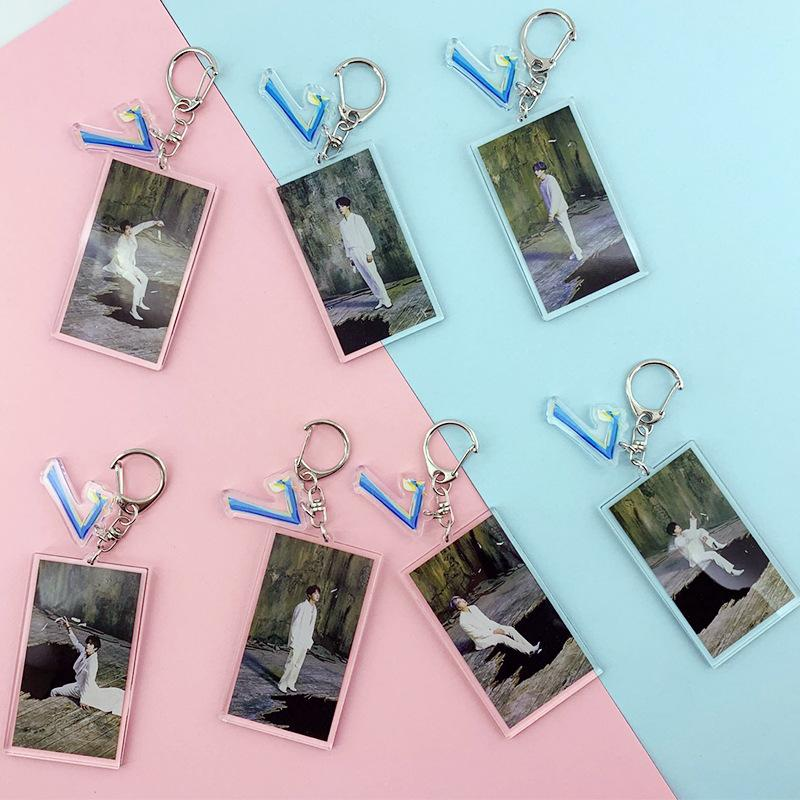 MAP OF THE SOUL: 7 BIAS KEYCHAINS - ARMY MERCH