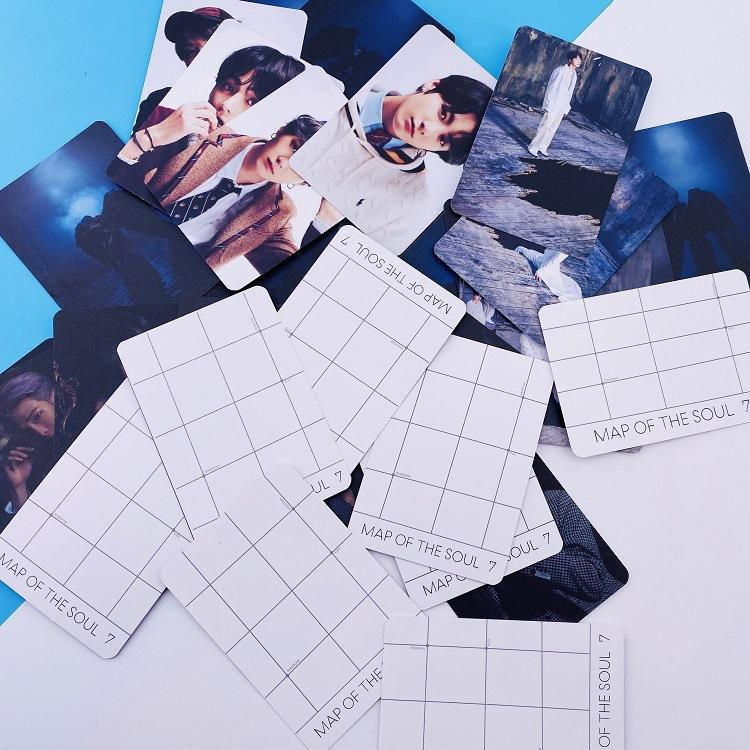 MAP OF THE SOUL: 7 CONCEPT PHOTOCARDS - ARMY MERCH