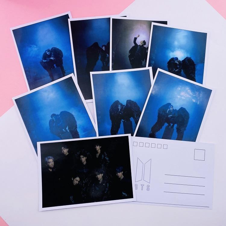 MAP OF THE SOUL: 7 POSTCARDS - ARMY MERCH