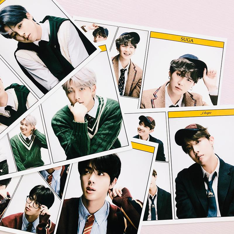 MAP OF THE SOUL: 7 POSTERS - BTS ARMY MERCH