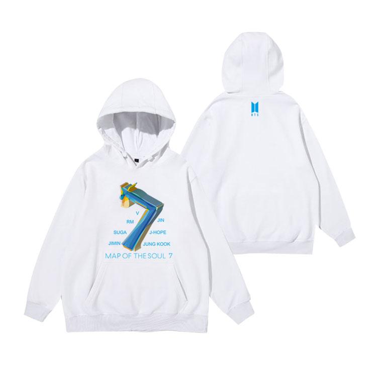MAP OF THE SOUL: 7 TEAM HOODIES - BTS ARMY MERCH