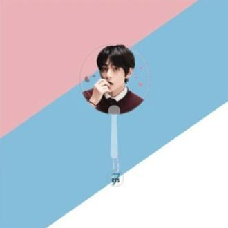 MAP OF THE SOUL: 7 TRANSPARENT CONCERT FANS - ARMY MERCH