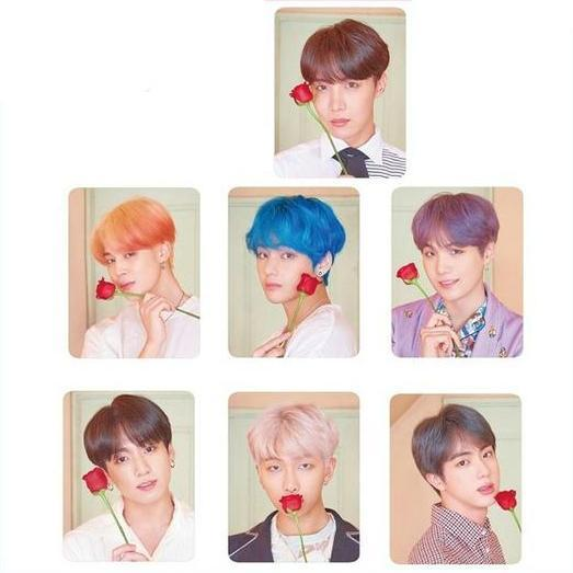 map of the soul persona album photocard sets 178077 grande