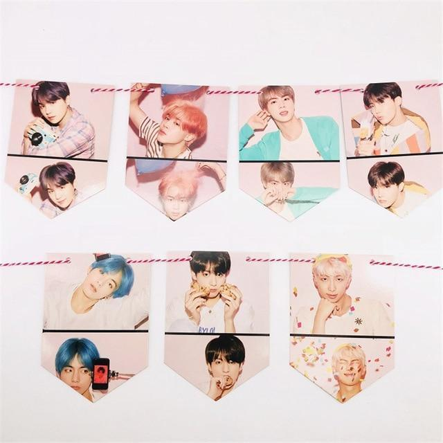 Map Of The Soul: Persona Hanging Flags - BTS ARMY MERCH