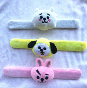 PLUSH SNAP BRACELET - BTS ARMY MERCH