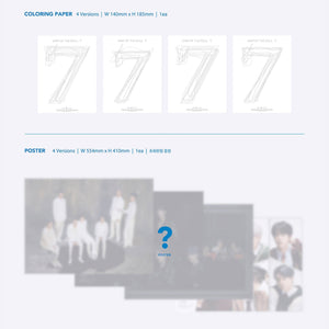 [PRE-ORDER] MAP OF THE SOUL: 7 OFFICIAL ALBUM - BTS ARMY MERCH
