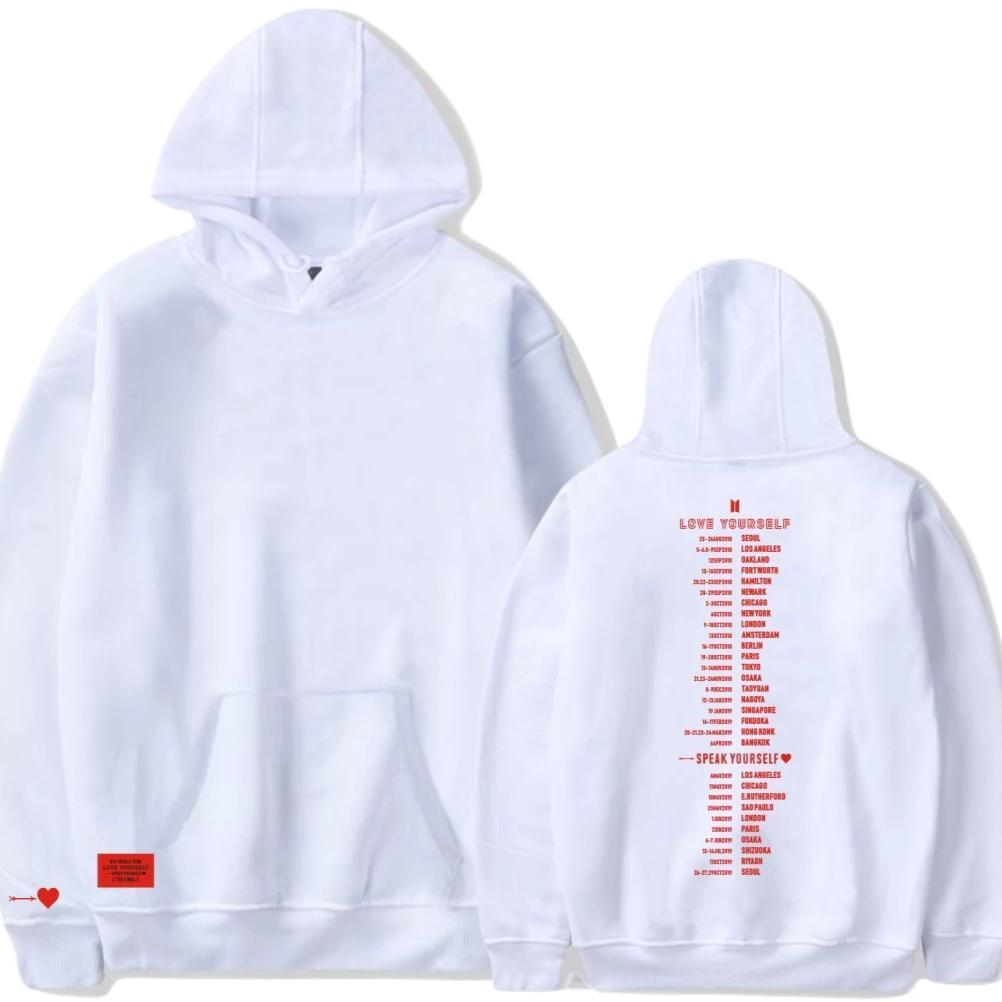 SPEAK YOURSELF: WORLD TOUR HOODIES - BTS ARMY MERCH