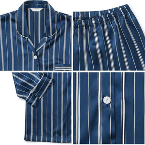 V's Silky Striped Pyjamas - BTS ARMY MERCH